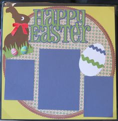 C'est La-Vie Designs Unltd., LLC: Happy Easter Scrapbook Page