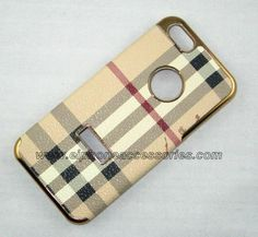 Burberry iPhone 5 Case iPhone 5 Cover Brown