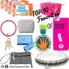 #Repost @thesimplemomlife with @repostapp  It's been an amazing year for me here on Instagram getting to know all of you and reviewing some pretty amazing products for mommies. I love collaborating with brands and hope to continue to bring you more in the coming year! Here are my top 10 favorites for 2016! @theneatcheeks is the best wipe for cleaning little faces without fuss. @insjohelsinki bag in bag organizer is the perfect way to keep any tote neat and compact. @shopoventure key ring is…