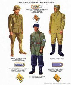 Miscellaneous Luftwaffe uniforms of World War II