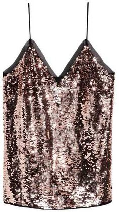 Turn heads in this sparkly number.