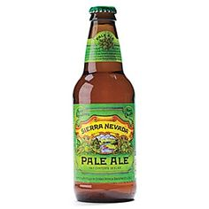 Sierra Nevada Pale Ale--made in Chico, CA, home of Aaron Rodgers!  Wish he was a BEAR.