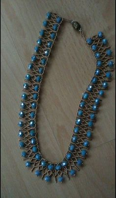 Best 11 Beautiful beaded necklaces – Page 561753753517050882 – SkillOfKing.Com – SkillOfKing.Com – SkillOfKing. Seed Bead Necklace, Seed Bead Jewelry, Bead Jewellery, Diy Necklace, Pearl Jewelry, Jewelery, Jewelry Necklaces, Beaded Bracelets, Necklace Tutorial
