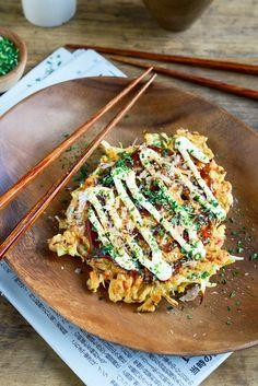 From The Kitchen: Japanese Curry Balls & Okonomiyake