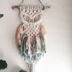 New Macrame Owl just listed. ✨