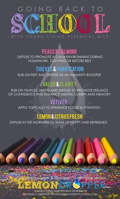 How to help kids cope at school #essentialoils #EOs #YL