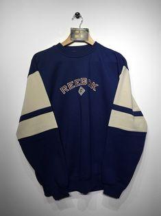 Reebok Sweatshirt size Small (but Fits Oversized) £36 Website➡️ www.retroreflex.uk #reebok #vintage #retro #oldschool #truevintage