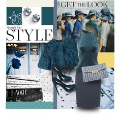 Get the Look: Deep Teal by mponte on Polyvore featuring STELLA McCARTNEY, Alejandro Ingelmo, Miu Miu, Juicy Couture, Dolce&Gabbana, Trilogy, women's clothing, women's fashion, women and female
