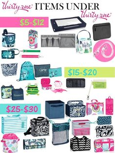 So many amazing Solutions for your busy life, and UNDER $30 this season! Thirty One Under $30 Under $20