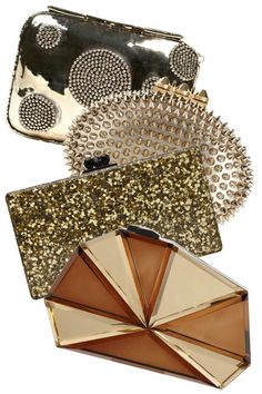 14 head-turning gold clutches for holiday parties and beyond