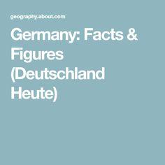 Germany: Facts & Figures (Deutschland Heute)