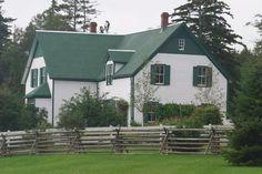 Green Gables  (Anne of Green Gables) -- Prince Edward Island