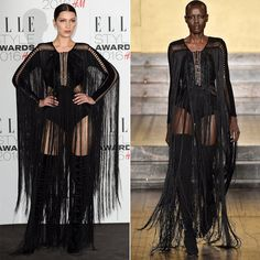Pin for Later: These Ladies Are Already Pulling Off Fall '16 Looks With Ease Bella Hadid Wearing Fall '16 Julien Macdonald