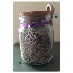 Hand Blended Protection Incense With Corked Jar And Spoon | eBay