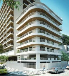 Residential Mader in the Lagoa Neighbourhood, Rio de Janeiro, Brazil.
