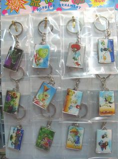 Wholesale Plants vs. Zombies Keychain Set  Anime Merchandise