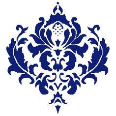 Elizabethan Damask PDF Cross Stitch Pattern by Nrapture on Etsy, $5.50