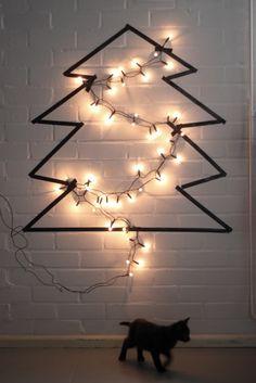 Deco-Navidad: 6 árboles de Navidad de Washitape : x4duros.com