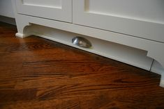 Toe kick drawer