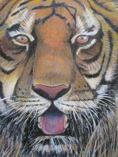 Pastel painting by Edward Girard Zentangle, Pastel, Paintings, Animals, Art, Animales, Cake, Paint, Animaux