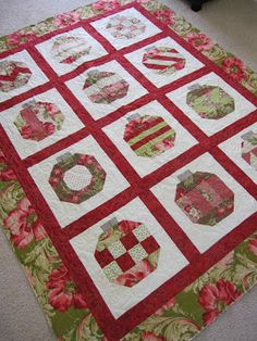 A Quilting Life: Christmas in July  Camille's Vintage Holiday