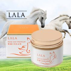 LALA Rose Day Premium Horse Oil Cream #koreancosmetics #horsecream