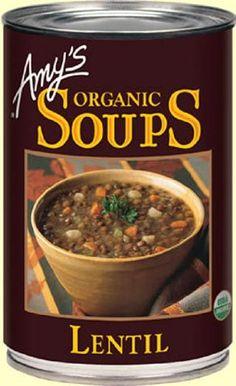 Amy's Organic Lentil Veggie Soup, 14.5 Ounce (8 count) - http://goodvibeorganics.com/amys-organic-lentil-veggie-soup-14-5-ounce-8-count/
