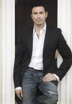 Mario Frangoulis Opera Singers, Book Boyfriends, Love Him, The Voice, Eye Candy, Mario, Suit Jacket, Relax, Romantic