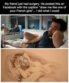 """""""Draw me like one of your French girls"""""""