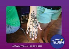 Gorgeous Henna design