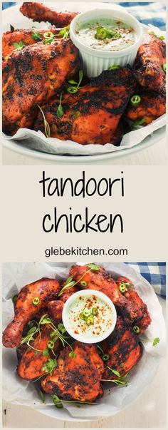3 Easy Healthy Chicken Recipes For A Lovely Treat Make juicy, spicy and flavourful tandoori chicken at home. This tandoori chicken recipe will make your tandoori better than what you've had in restaurants. Pollo Tandoori, Tandoori Masala, Tandori Chicken, Breaded Chicken, Boneless Chicken, Roasted Chicken, Fried Chicken, Canned Chicken, Chicken Pasta