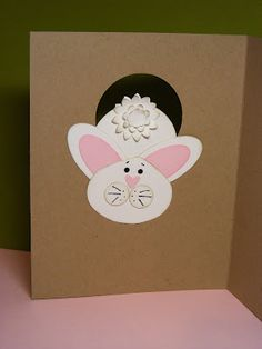 stampin up  Easter Punch Art Stampin' Up!