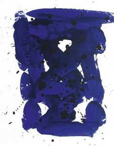 Untitled - Sam Francis Completion Date: 1983