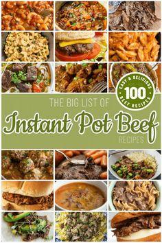 Beef Recipe Instant Pot, Instant Pot Dinner Recipes, Pulled Pork Recipes, Ground Beef Recipes, Barbecue Recipes, Grilling Recipes, Crock Pot Slow Cooker, Slow Cooker Recipes, Crockpot Recipes