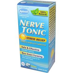 Hylands Nerve Tonic Stress Relief 100 Tablets  2pc >>> See this great product. Note: It's an affiliate link to Amazon.