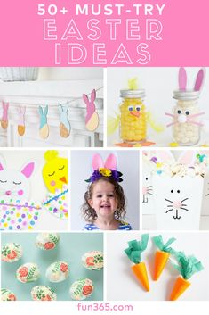 From kid's crafts to cute decorating projects and creative egg ideas -- get easy ideas for your crafty Easter!