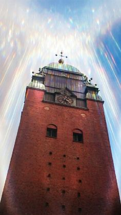 A heavenly tower  by Sherlina