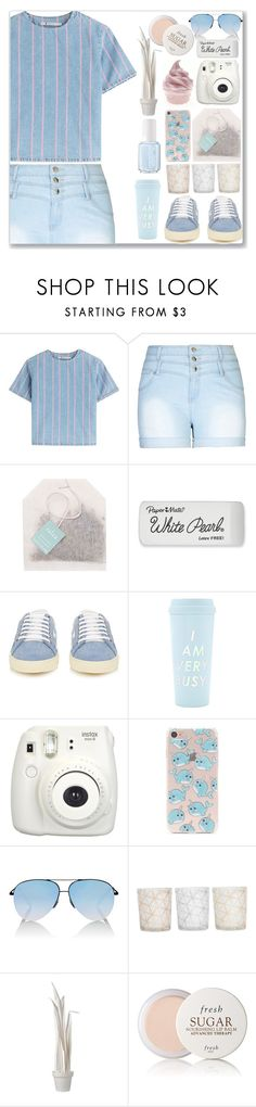 """Carnival"" by amber-mistry on Polyvore featuring T By Alexander Wang, City Chic, Paper Mate, Yves Saint Laurent, Essie, Fujifilm, Forever 21, Victoria Beckham, Tocca and Wandschappen"