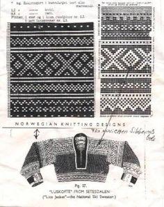 Norwegian Knitting, Kristiansand, Fair Isle Knitting, Knitting Charts, Textiles, Crochet, Lace, Pattern, Sweaters