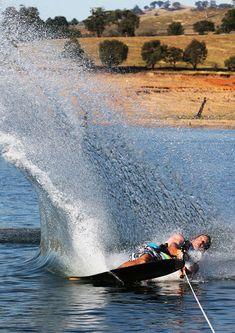 Carve like a pro, water ski