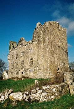 Castle of the O'Brien's in County Clare, Ireland