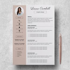 Contoh cv format word free download template cv kreatif 30 desain 14 incredible cv templates for every job type career girl daily yelopaper Image collections