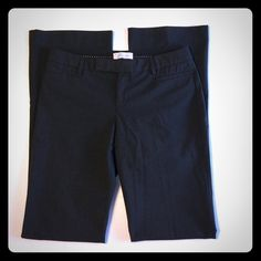 """GAP Modern Boot Pants GAP Modern Boot Pants. Size 4L. Made in Indonesia. Stretch. 62% polyester. 34% viscose. 4% spandex. Machine wash. Tumble dry. Waist 32"""" Hips 38"""" Inseam 34"""" GAP Pants Boot Cut & Flare"""
