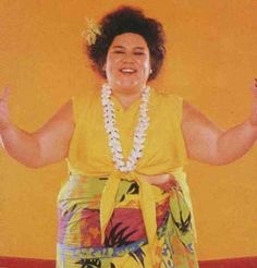 Mountain Fiji - GLOW Female Wrestling