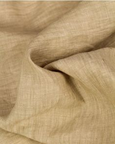 linen fabric in a light sandcastle beige shade. This lightweight, natural fabric is perfect for adding some neutral classics to your capsule summer wardrobe. Summer Shirts, Fabric Online, Summer Wardrobe, Linen Fabric, Neutral, Beige, Pure Products, Classic, Derby