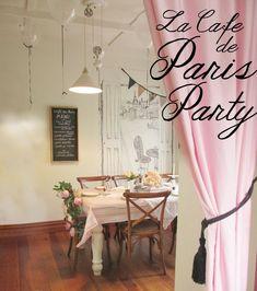 La cafe de paris Party