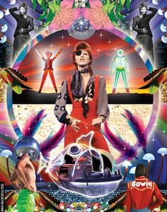 """bowieisbowie: """"""""The Sun Machine is coming down, and we're gonna have a party."""" 170. MEMORY OF A FREE FESTIVAL - Album: Space Oddity, 1969 """""""