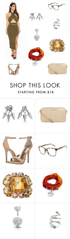 """""""20160927"""" by cherylcarolwhatever ❤ liked on Polyvore featuring Bling Jewelry, MICHAEL Michael Kors, Sam Edelman, Kam Dhillon and Jennifer Lopez"""