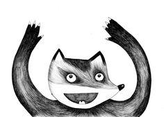 Animal Ballpoint Pen Doodles by Sara Doucette, via Behance