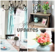 For the Love of Decorating!: Spring Updates in the Dining Room